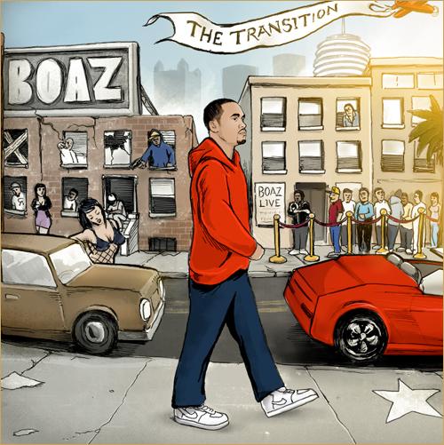 coperta boaz the transition