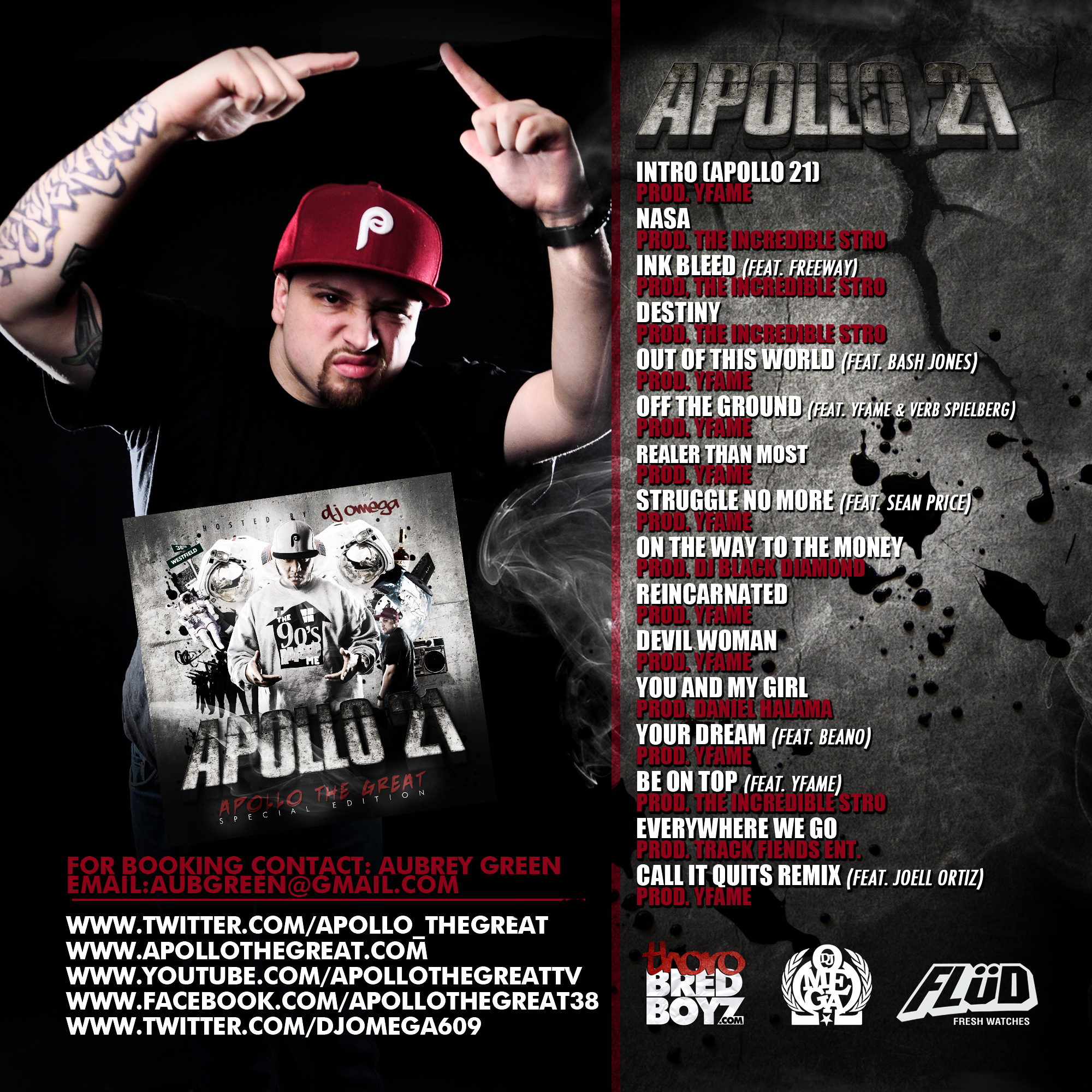 coperta apollo the great 21 mixtape