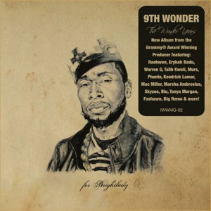 9th wonder album cover the wonder years