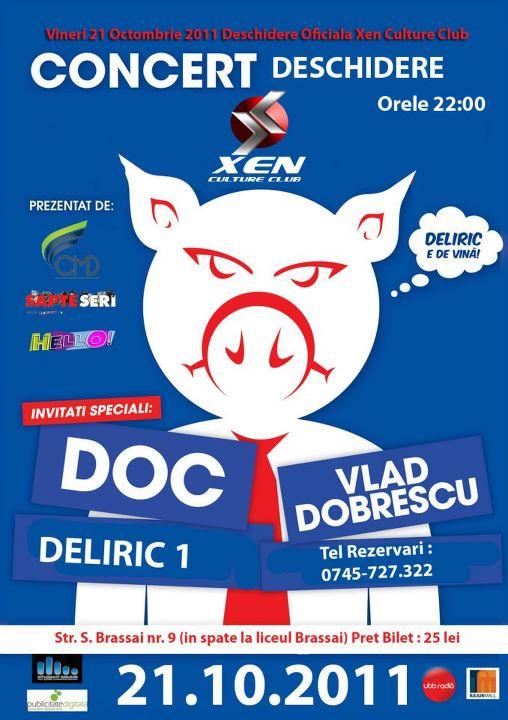 doc vd deliric concert cluj