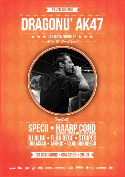 dragonu afis concert lansare ep