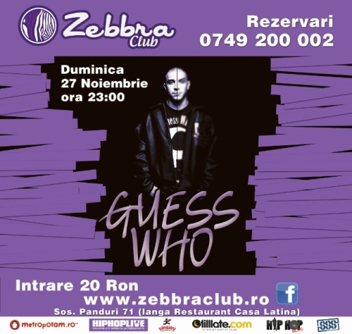 guess who zona hip hop